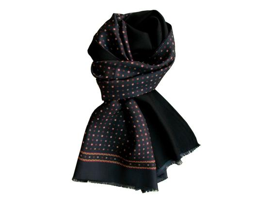 Scarf Black patterned | Product code: 13000