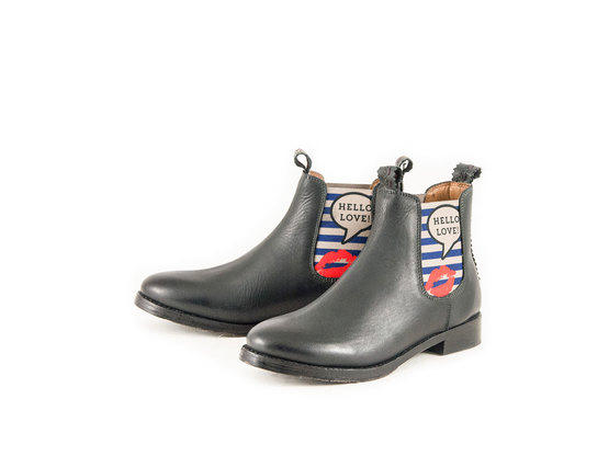 JULIA Grau Hello Love | Chelsea Boot. Fashion. Pop. | Artikelnummer: TORRENT10455461_40