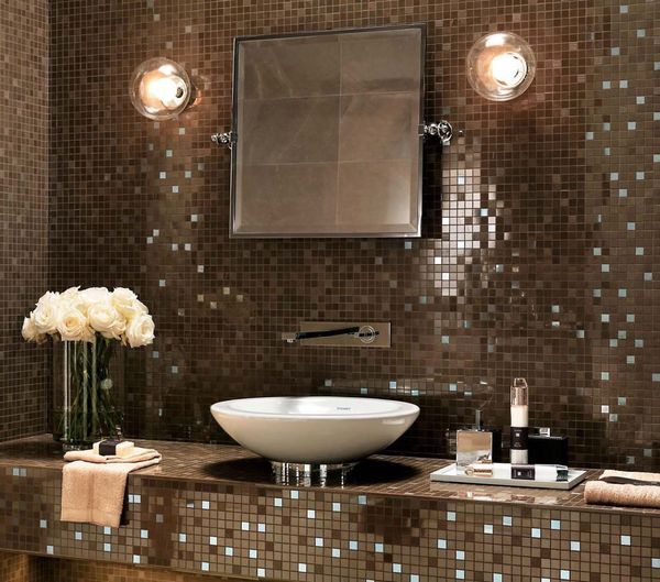 Marvel Bronze Luxury Mosaik