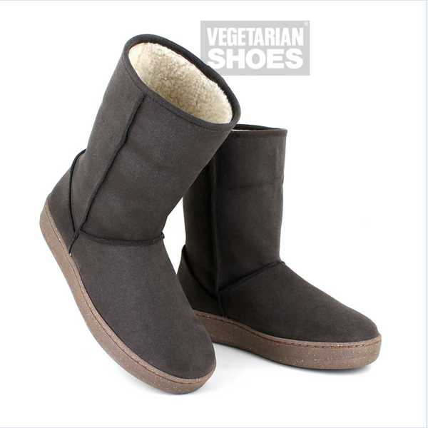 VEGETARIAN SHOES Winterstiefel SNUG/SNUGGE BOOT brown