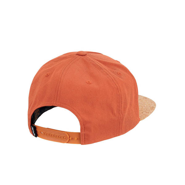 PICTURE ORGANIC CLOTHING Cap NARROW burnt orange