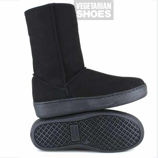 VEGETARIAN SHOES Winterstiefel SNUG/SNUGGE BOOT black