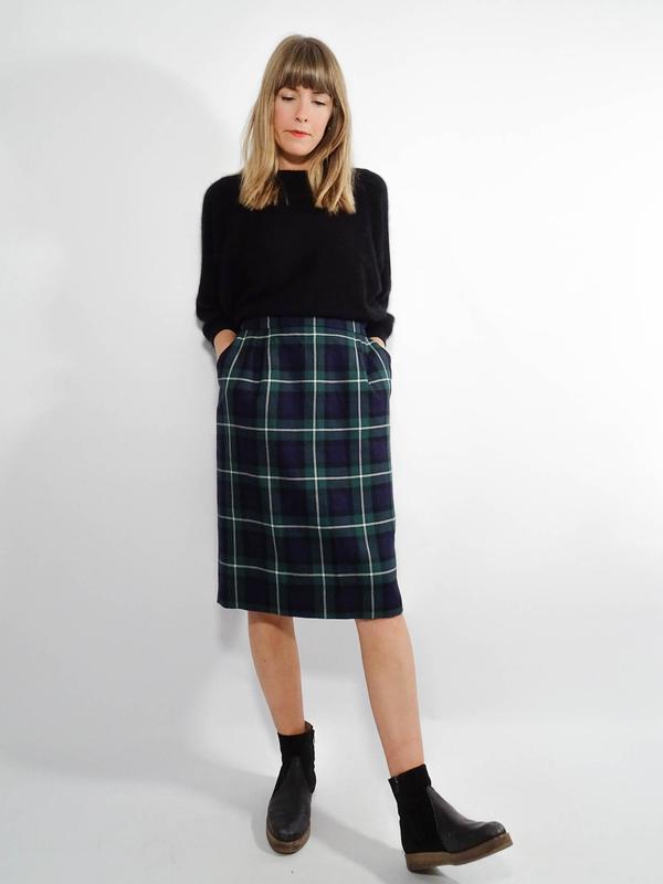 Karierte röcke