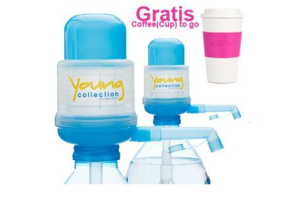 Agua Quick - Yong collection/ Das Original | 2 x Pumpen YCB  - Gratis COTOGO rose | Artikelnummer: 2 X YCB  01 COTOGO rose