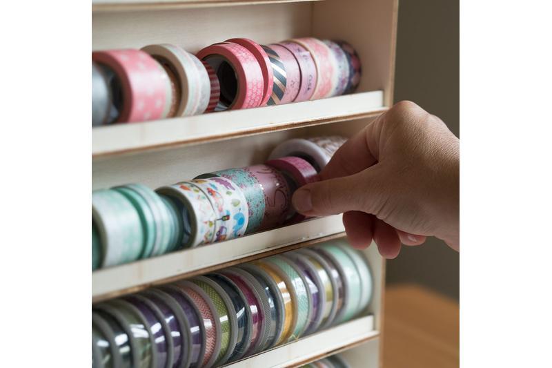 washi tape aufbewahrung. Black Bedroom Furniture Sets. Home Design Ideas