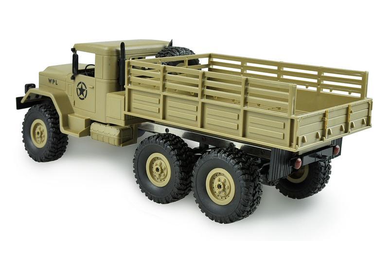 amewi milit r rc truck 6wd 1 16 bausatz sandfarben. Black Bedroom Furniture Sets. Home Design Ideas