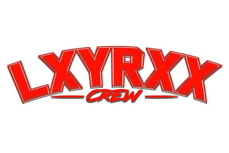 lxyrxx lxyrxx crew sticker rot 60cm sticker kaufen. Black Bedroom Furniture Sets. Home Design Ideas