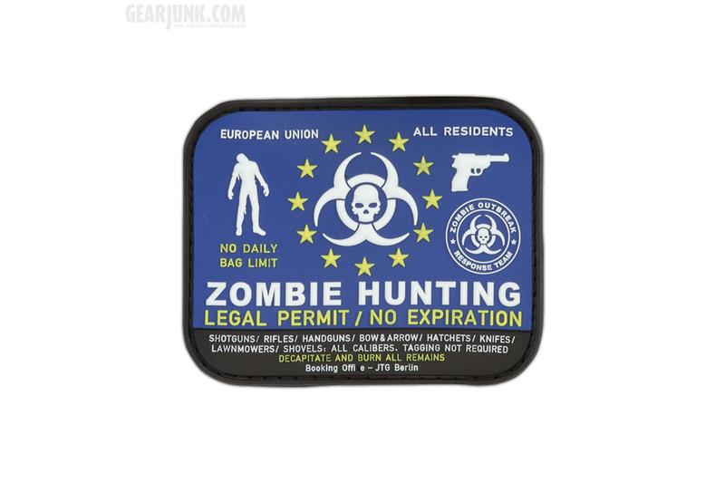 patch zombie hunting permit. Black Bedroom Furniture Sets. Home Design Ideas