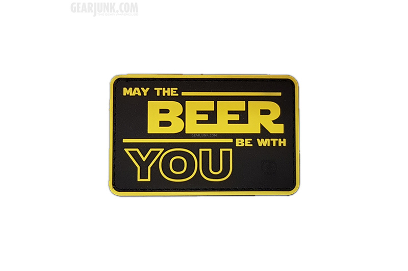 patch may the beer be with you. Black Bedroom Furniture Sets. Home Design Ideas