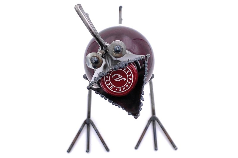 Wine Bird Steel ART design data-image-id=