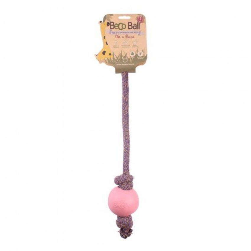 Beco Ball Rope Rosa 2