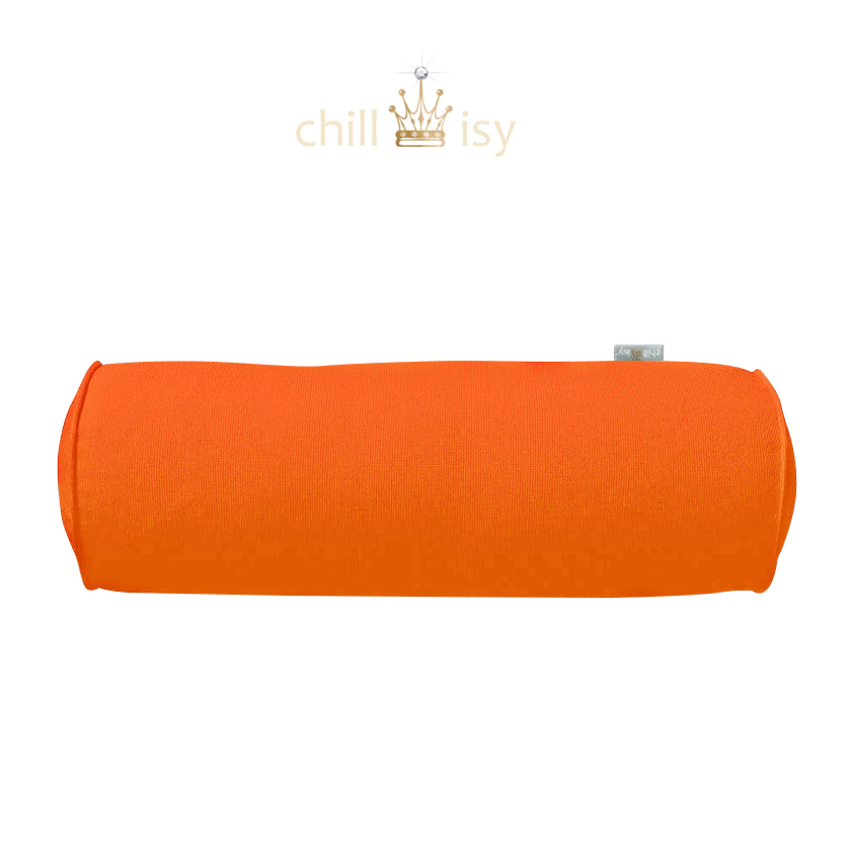 Schwimmnudel XXL Super Maccheroni Mandarinen Orange 20x150cm – chillisy® Pool Lifestyle online kaufen.