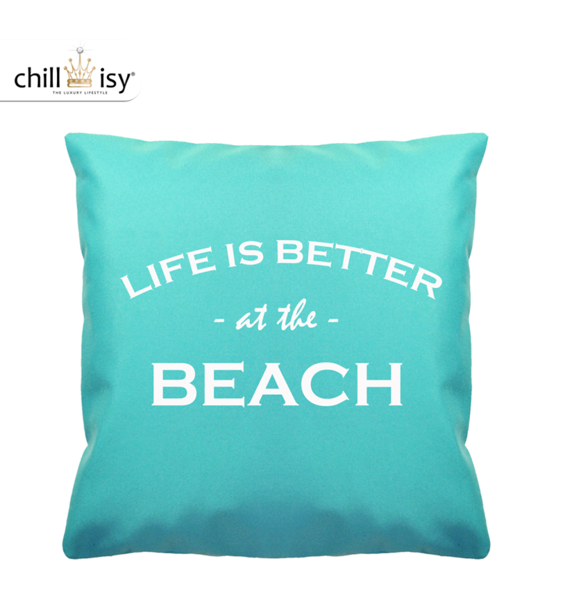 "Outdoor Kissen ""LIFE IS BETTER AT THE BEACH"" (OKLB4545)"