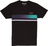 Billabong Team Stripe Herrenshirt T-Shirt black