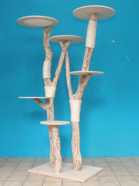 kratzbaum naturholz 195 cm naturkratzbaum 0674 diworo. Black Bedroom Furniture Sets. Home Design Ideas
