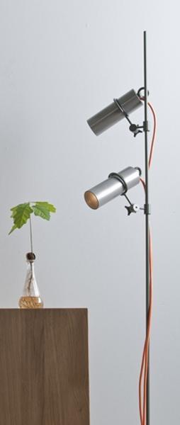 stehlampe im industrie look led halogen. Black Bedroom Furniture Sets. Home Design Ideas
