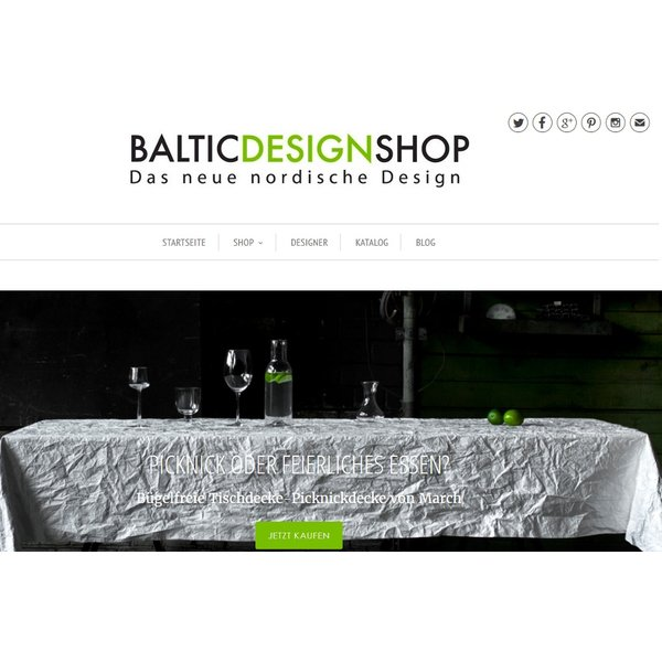 neues design f r den shop baltic design shop. Black Bedroom Furniture Sets. Home Design Ideas