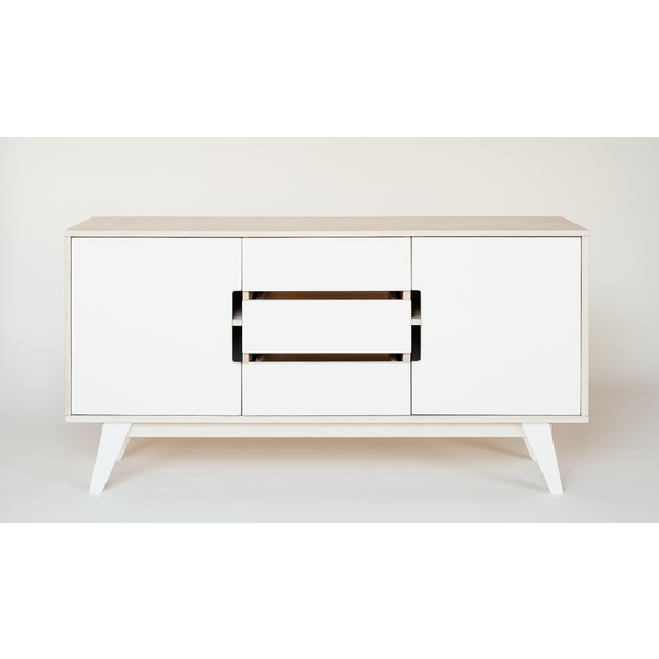 Kommode Sideboard Holz weiß