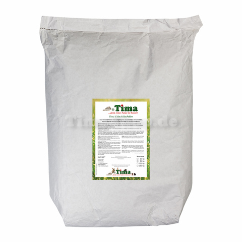 Tima Chinchilla-Pellets Premium 15 kg Sack