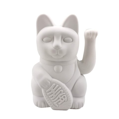 Donkey Products Winkekatze LUCKY CAT weiß