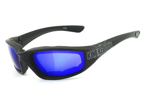 King Kerosin Model KK140 gepolstert - laser blue
