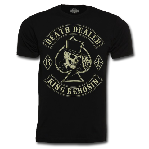 King Kerosi - Death Dealer - Regular Shirt - Black
