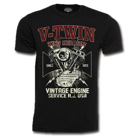 King Kerosin T-Shirt Vintage Engine