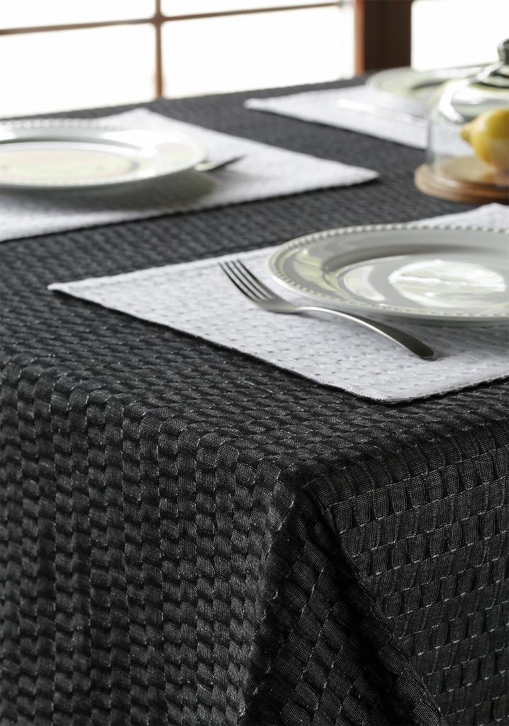 leinen tischdecke fly in grau 140x210. Black Bedroom Furniture Sets. Home Design Ideas