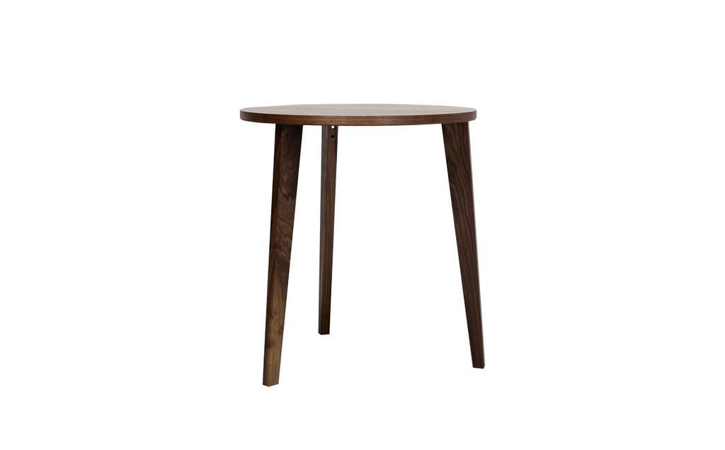 runder esstisch 90 cm aus nussbaum mint furniture. Black Bedroom Furniture Sets. Home Design Ideas