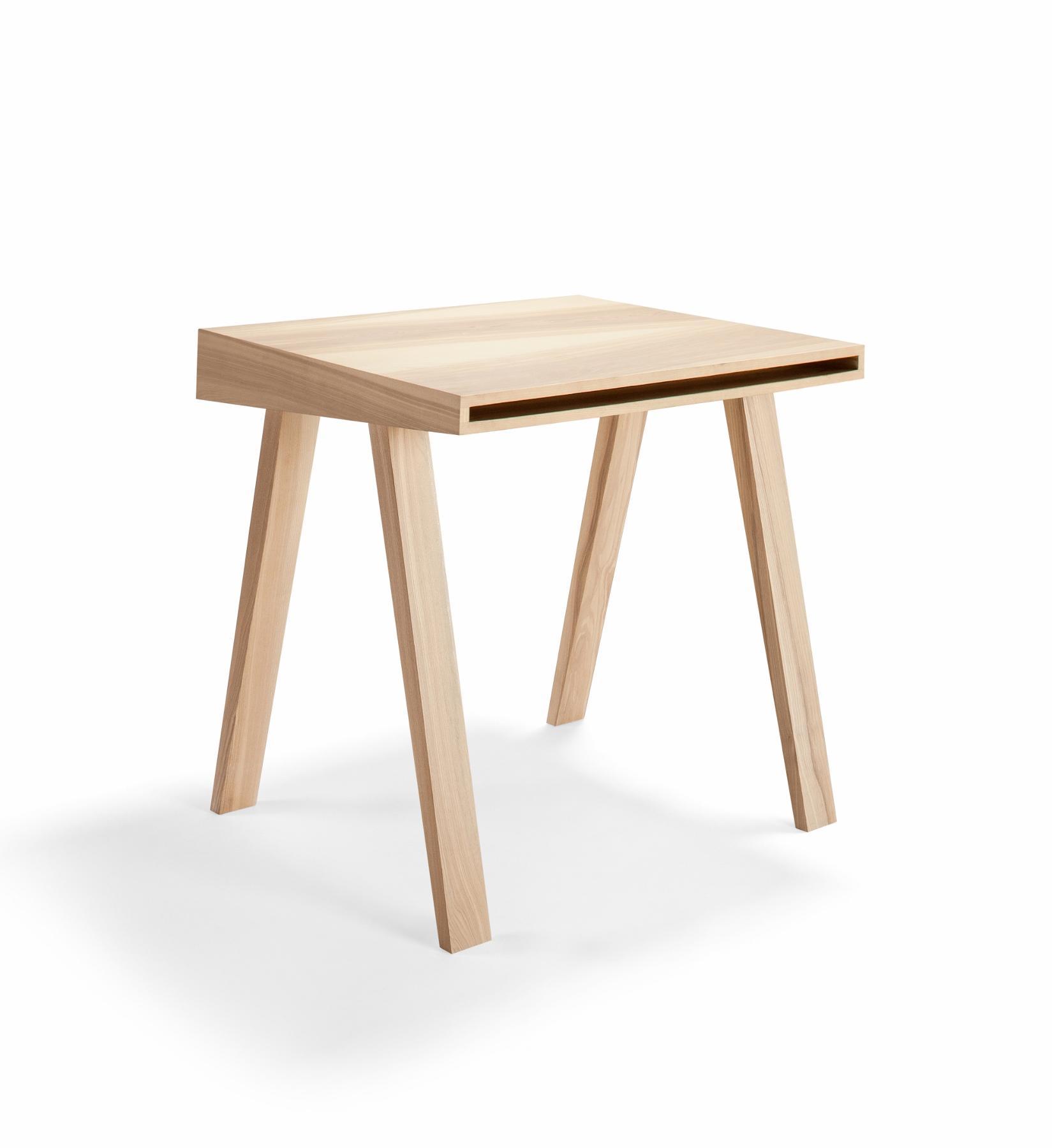 Kleiner Bürotisch innovativer design schreibtisch 4 9 aus massivholz emko