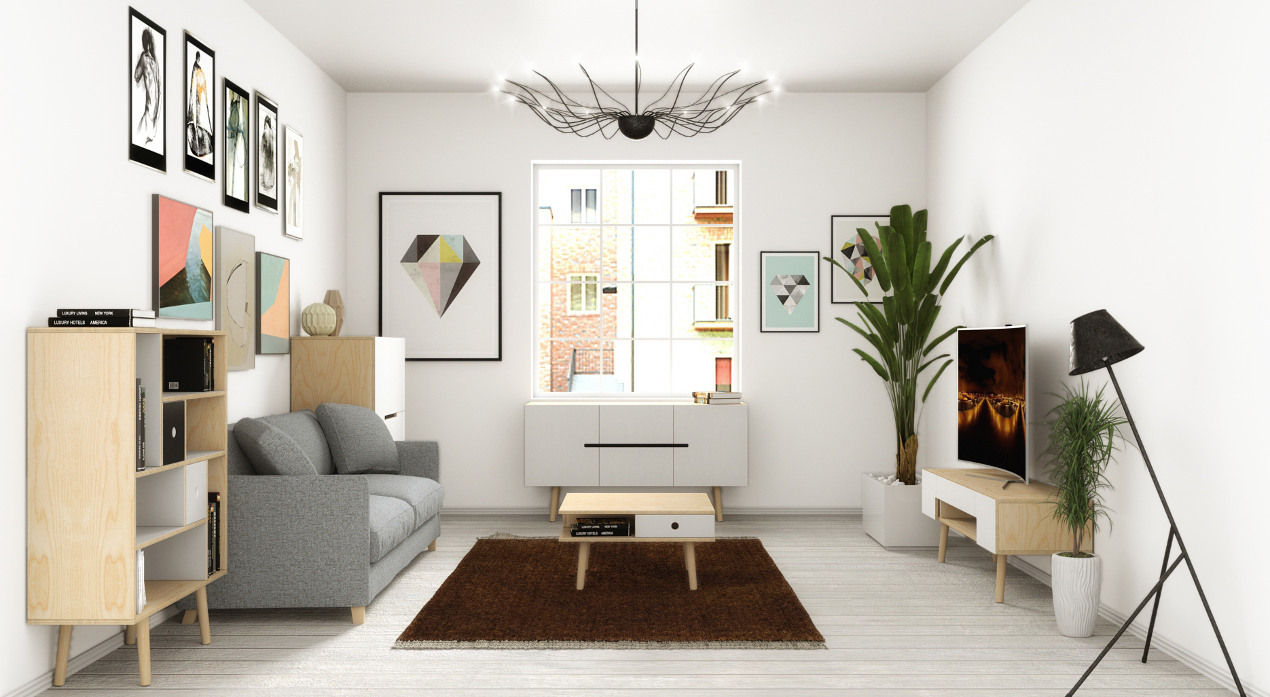 tv unterschrank aus birkenholz skandinavisches design. Black Bedroom Furniture Sets. Home Design Ideas
