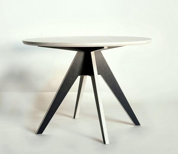 runder tisch 125 cm aus holz nordisches design. Black Bedroom Furniture Sets. Home Design Ideas