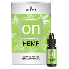 ON Hemp for HER, Hanf Stimulationsgel (5,20 € / ml)